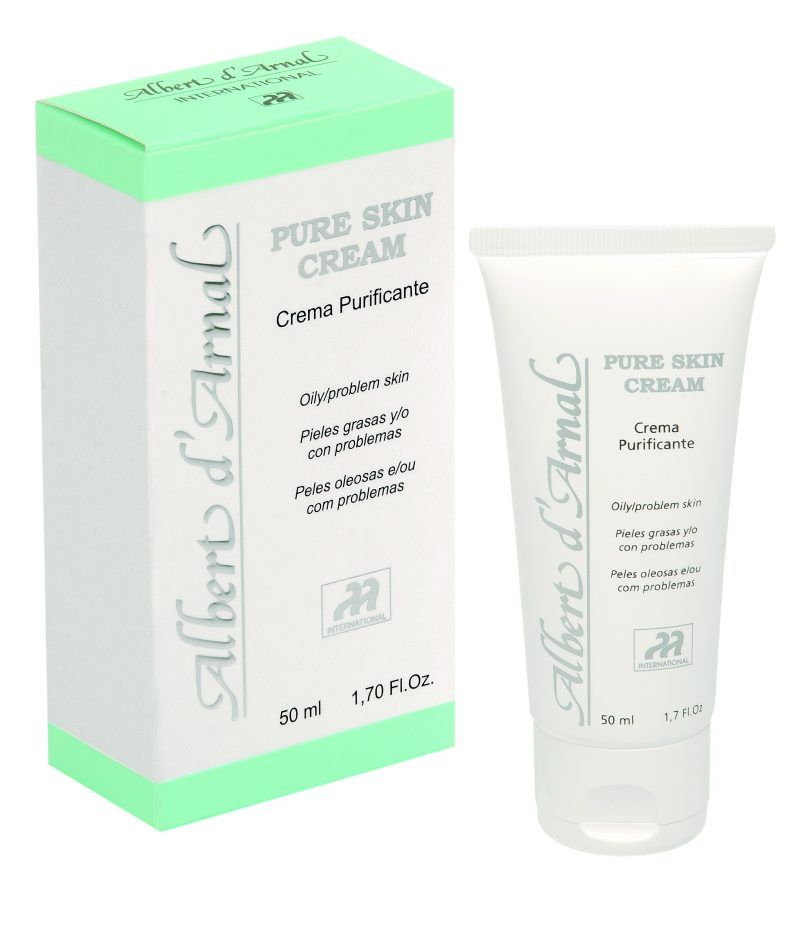 PURE SKIN CREAM. Crema purificante 1