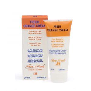 Crema Vientre Firme y Gluteos Planos Frecor Naranja