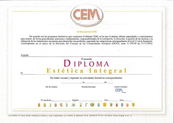 DIPLOMA CEM 1